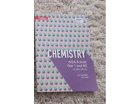 AQA A Level AS Chemistry Book