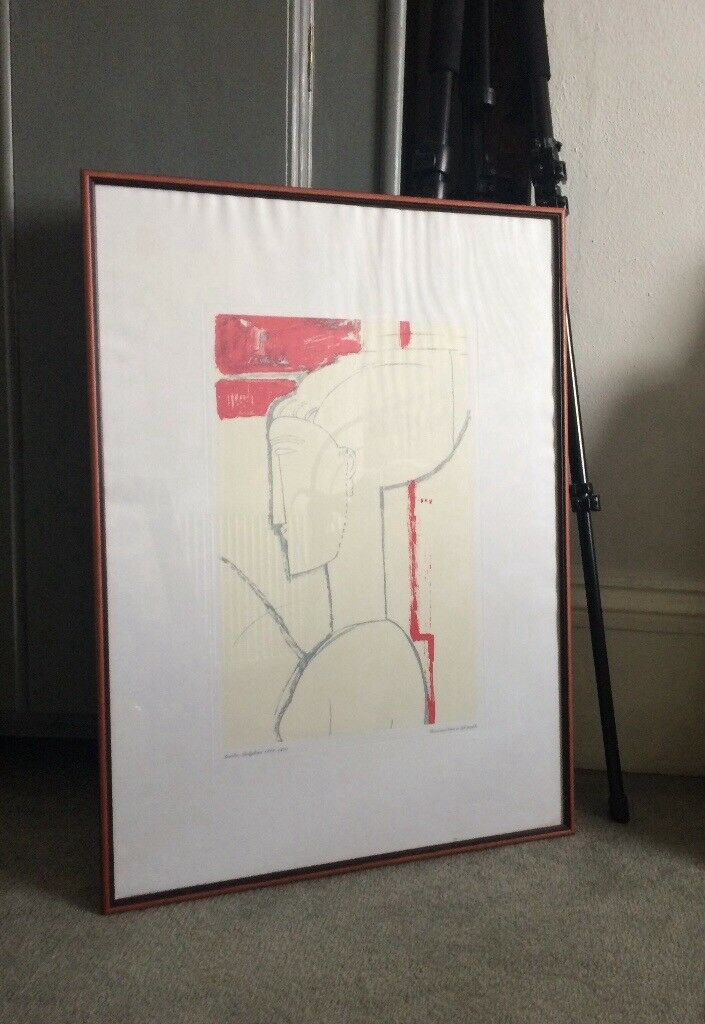 Framed print A Modigliani painting picture