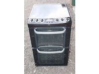 55CM WIDE, 6 MONTHS WARRANTY Electrolux AA energy arted, double oven electric cooker FREE DELIVERY