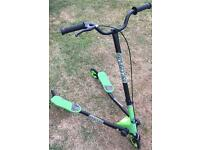 Green Sporter scooter