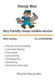 Handy man hull area