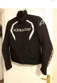 Alpinestars fastback motorcycle jacket .size medium