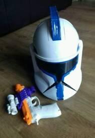 STAR WARS Talking Clone Helmet fancy dress
