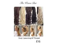 Hair Extensions - Wigs, Ponytails, Fringes, etc..