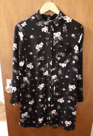 Lovely floral dress size 40 / 12 only worn 1x !