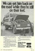 Wanted Dodge Truck  & spare parts, manuals, signs, Chrysler stuff Gawler Gawler Area Preview