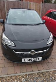 Vauxhall Corsa black 15 plate 1.4turbo good condition