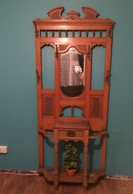 Beautiful side unit, hat & umbrella stand with mirror