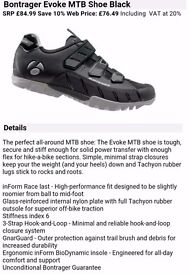 Cycing Shoes - Bontrager Evoke MTB Shoe