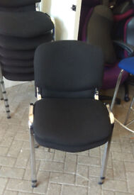 office proffesional chair black conference meeting stacking