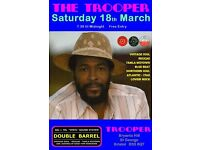 SATURDAY 18th MARCH - 60s 70s SOUL / REGGAE / MOTOWN / DISCO with DOUBLE BARREL - ST GEORGE