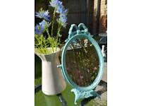 Antique Italian dressing table mirror