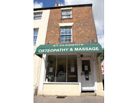 Part time receptionist at Osteopathy clinic in Oxford