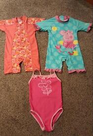 Swim suits 18-24 months