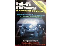 HI-FI 1982 Hafler Bose Musical Fidelity Tannoy Monitor Audio Castle Nakamichi
