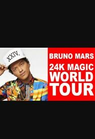 X4 Bruno Mars 24k magic.... @o2 ....TICKETS FOR SALE