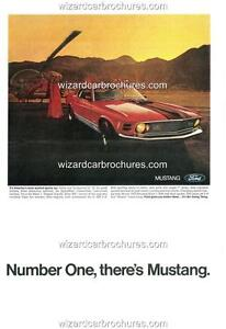 1970-FORD-MUSTANG-MACH-1-A3-POSTER-AD-SALES-BROCHURE-MINT-ADVERTISEMENT-ADVERT