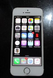 IPHONE 5S/GOLD/UNLOCKED/16GB/GOOD CONDITION/WORKS PERFECTLY