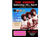 SATURDAY 22nd APRIL - 60s 70s SOUL / REGGAE / MOTOWN / SKA with DOUBLE BARREL – TOTTERDOWN