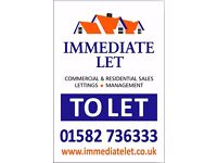 bills included **** 3 double and 1 medium rooms to rent £425 pm