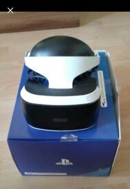 VR for Ps4 with Camera and Resident Evil game . Fully worked and excelend condition .