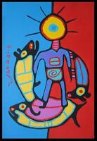 Collection of original Norval Morrisseau paintings and drawings