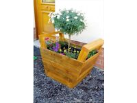 BESPOKE Garden planters from just £10 or £15 for 2 FREE LINERS IF REQUIRED