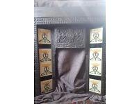Victorian Cast Iron Fire Surround w/Original Tiles