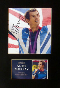 Andy-Murray-Olympics-Signed-Mounted-Photo-Display-Tennis-Autograph-2012