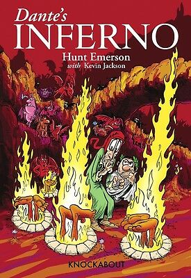 DANTE'S INFERNO by Hunt Emerson with Kevin Jackson