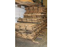 Reclaimed Pitch Pine flooring. Various sizes ad prices available
