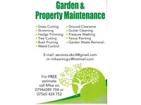 GARDEN & PROPERTY..MAINTENANCE