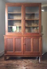 Old oak school cupboard