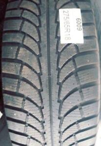 PNEUS HIVER USAGÉS / USED WINTER TIRES 275/65R18 27565R18 CHAMPIRO ICE PRO OT (ENSEMBLE DE 4)