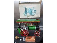 Boxed Mamod Steam Traction Engine TE1A