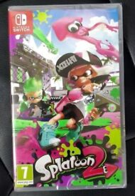 Splatoon 2 - Nintendo Switch Video Game - Brand New and Sealed