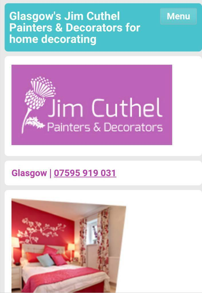 Jim Cuthel Painters And Decorators In Old Kilpatrick Glasgow Gumtree