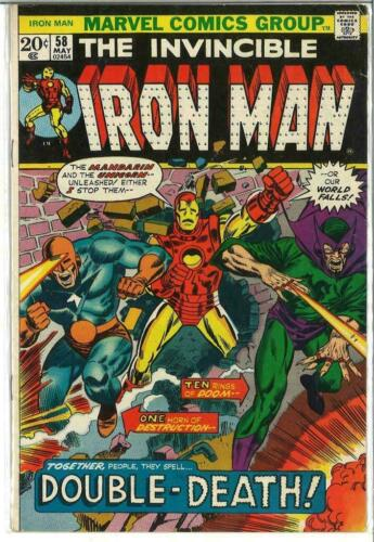 Iron Man #58, VF- 7.5, Mandarin, Unicorn
