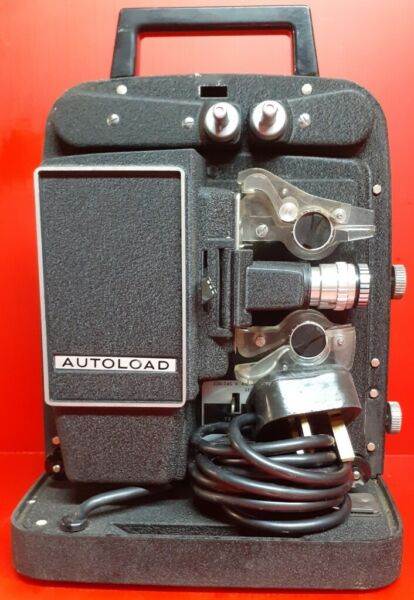 Vintage Bell & Howell Auto Load 256 EX 8mm Cine Projector for sale  Earlsheaton, Dewsbury