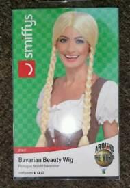 Bavarian beauty wig Oktoberfest new