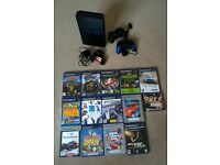 Sony PS2 with 2 x Controllers & 40+ Games