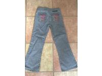 Stella McCartney grey jeans Age 8