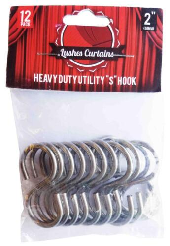 Pack of 12 pc Stainless Steel Thick Heavy Duty Utility S Sha