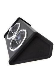 Aunba Car Audio HiFi System Set 'Black Line 140' Subwoofer Amplifier Built-In LED Light Effect