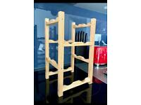 *** Wooden Wine Rack (8 Bottles). 39x22x22cm. Please feel free to check the other products