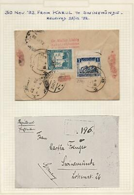 AFGHANISTAN: 1932 Cover to Germany - Ex-Old Time Collection - Page (39457)