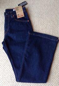 Women's Blue Levi Jeans Size 12 BNWT