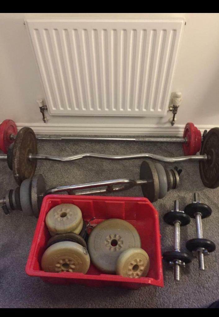 Weights and bars £100