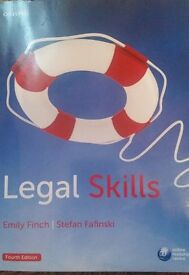 Legal Skills Law book By Emily Finch and Stefan Fafinski