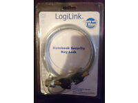 NEW LogiLink laptop notebook security key lock